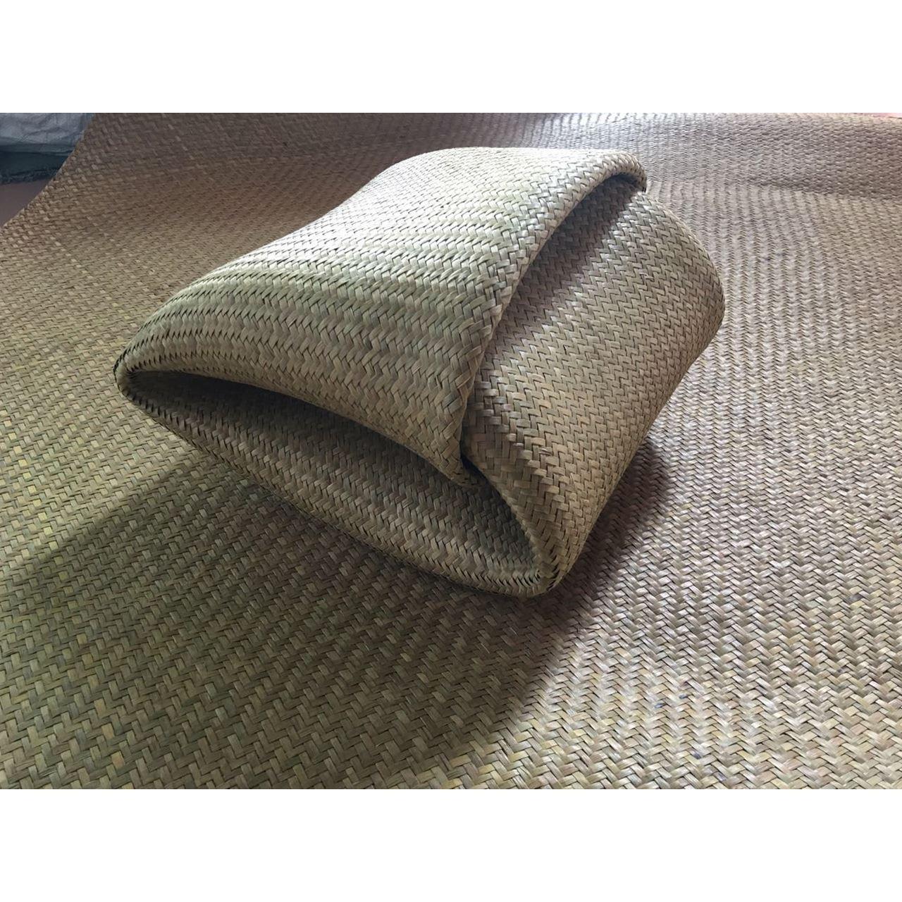 2017床席折叠式可折叠纯编织老式蒲草席优级广东凉席