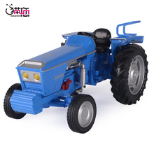 Cadiway old tractor model walking tractor alloy car model toy children's boy toy car
