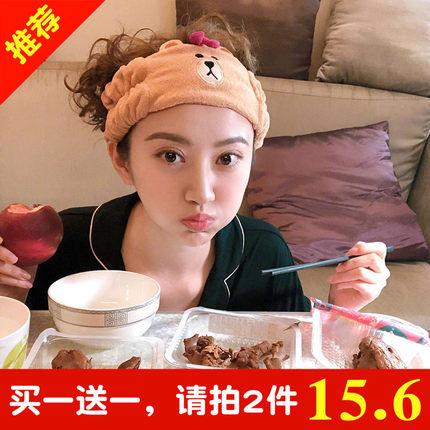 青春旅社景甜同款发带女洗脸发箍韩国可爱网红卡通宽边洗漱束发带