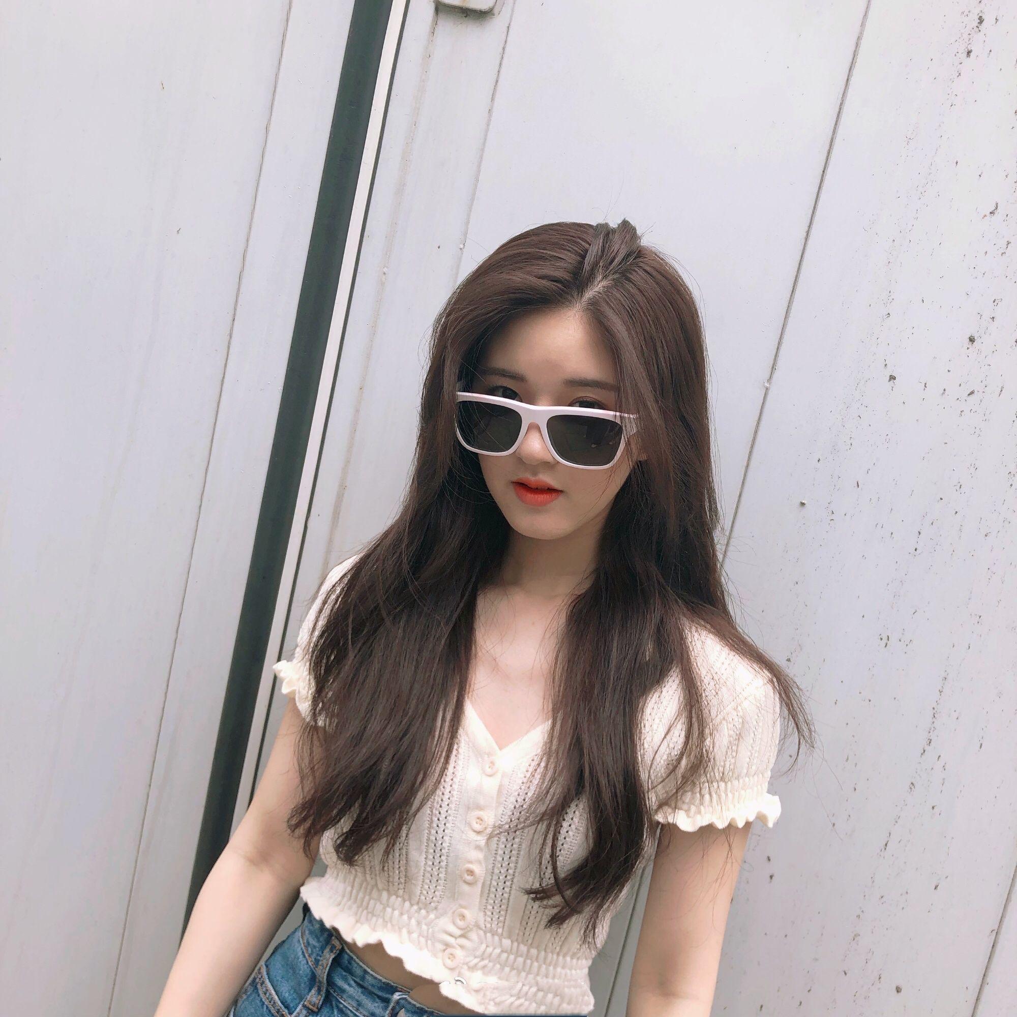 趙露思同款復古V領顯瘦高腰短款胸前系扣鏤空花邊針織短袖開衫T恤