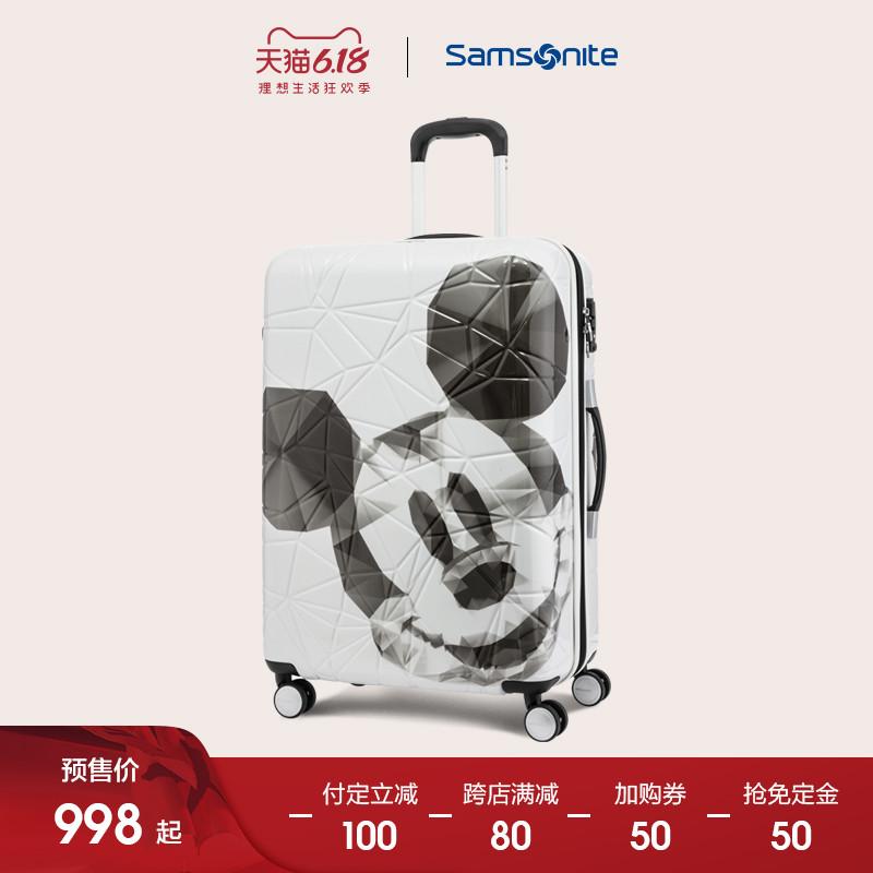Samsonite/新秀丽米奇可扩展拉杆箱旅行箱行李箱20/24/28寸AF9图片