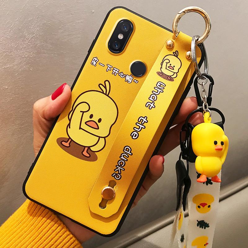 小米8手机壳青春版8SE小米mix2手机套mix2s/max2/max3/6x保护套指纹版全包防摔软壳个性创意男女款网红小黄鸭