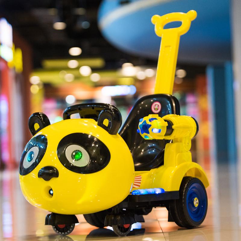 �和���榆�室��u�[童�四��нb控扭扭三�玩具�可坐人手推汽�
