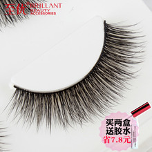 Natural simulation of soft stalk eyelashes with excellent hand-made cotton thread