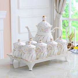 陶瓷水杯家用套装杯具杯子套杯欧式客厅水具茶具茶壶茶杯简约套装图片