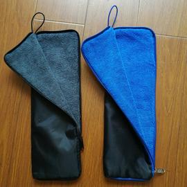 吸水雨伞袋 防雨水吸湿可手提伞套 车载家用雨伞收纳包 长35cm