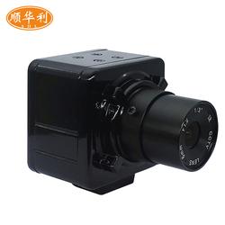 高清彩色USB500万像素免驱工业相机CCD显微镜视觉摄像头机械检测