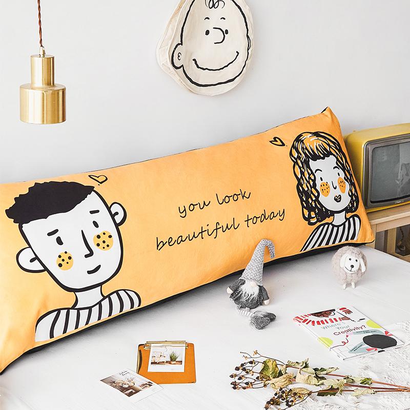 正品保证ins卡通床头靠垫靠枕双人三角大靠背垫卧室榻榻米床上儿童可拆洗