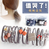 Head rope South Korea small Fresh hair rope sam Female Adult Simple hair circle headgear tie hair Rubber band Jewelry Personality