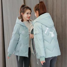 短款羽绒棉服女装2020年冬季新款时尚修身棉衣小个子棉袄外套潮