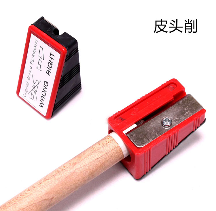 Бильярд Заточка Карандаш Sharpener Club Repair Tool Замена Бильярдные принадлежности Cue Cue Tip Repair Кожаный наконечник