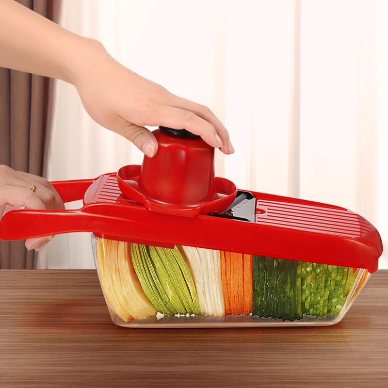 家用土豆丝切丝器厨房用品多功能切菜萝卜擦丝土豆切片器刨丝神器