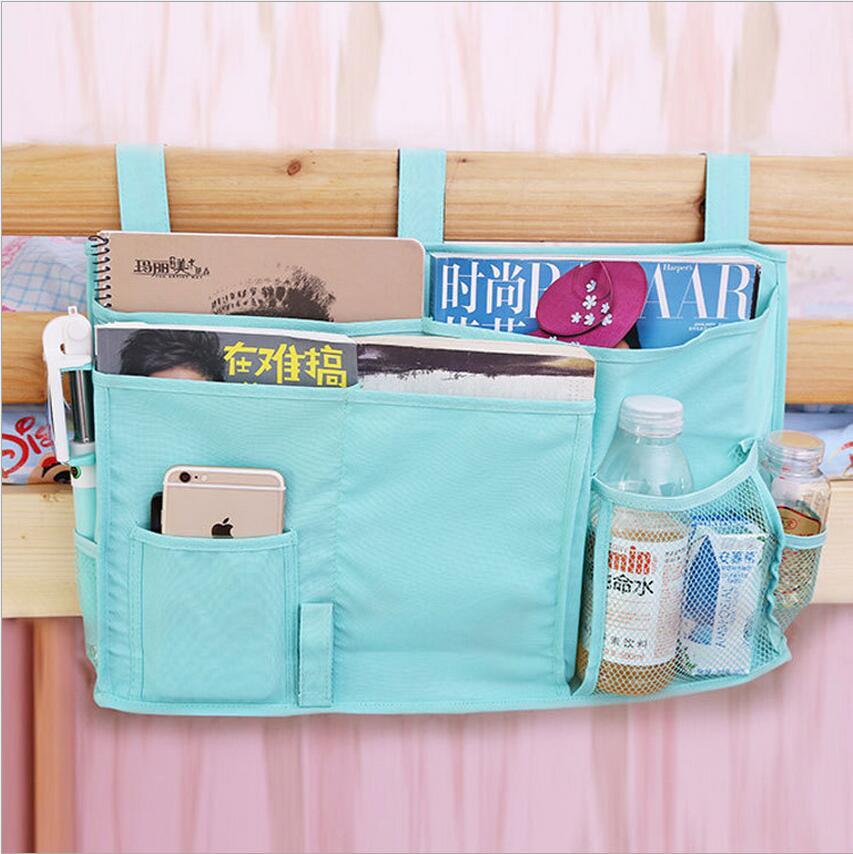 學生宿舍床頭掛袋床邊袋牛津布收納寢室置物袋嬰兒尿布儲物袋