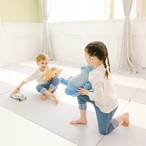 韩国caraz宝宝爬爬行垫xpe加厚4cm家用客厅婴儿童可折叠地垫无毒
