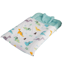 Children's quilt in the big child defense kicked by the artifact sleeping bag baby sleeping by the cotton baby universal four seasons quilt quilt
