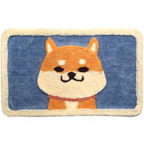 Bathroom anti-skid pad door mat foyer entrance bathroom door pad household carpet suction mat toilet Cushion