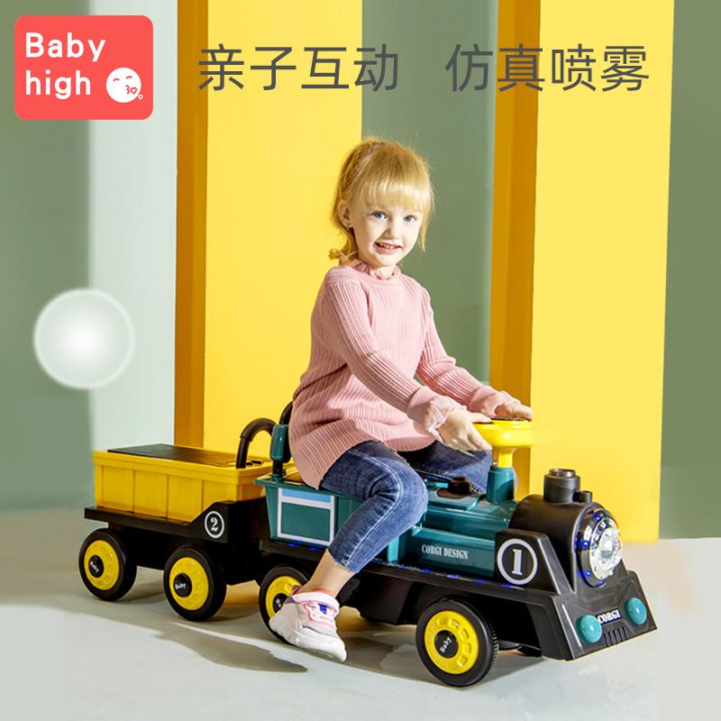 四轮遥控女孩双人大人玩具电动车值得买吗