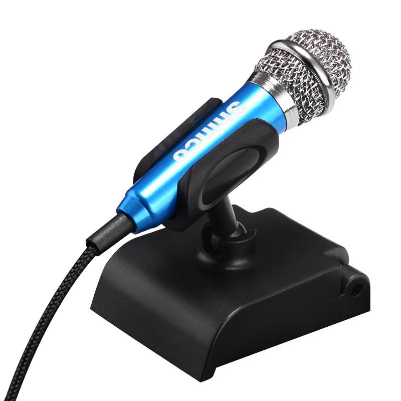 Shinco 新科 S10迷你小話筒安卓蘋果電腦電容麥手機唱吧K歌麥克風