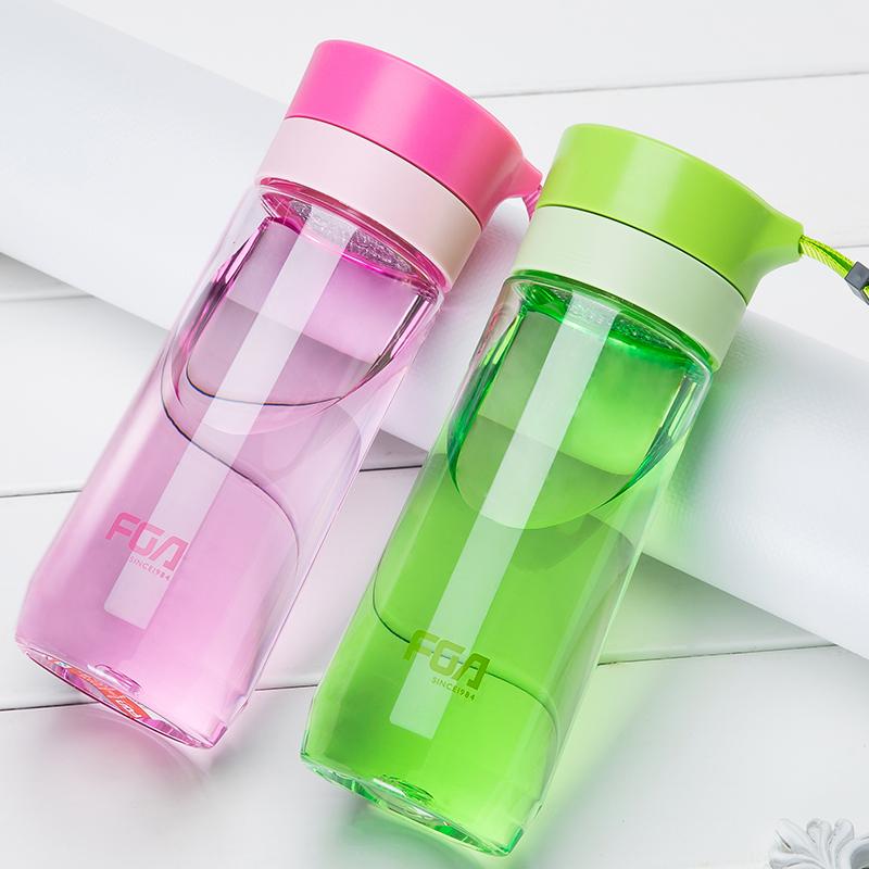 富光便攜塑料杯 過濾水杯男女茶杯學生隨手杯 太空杯 杯子