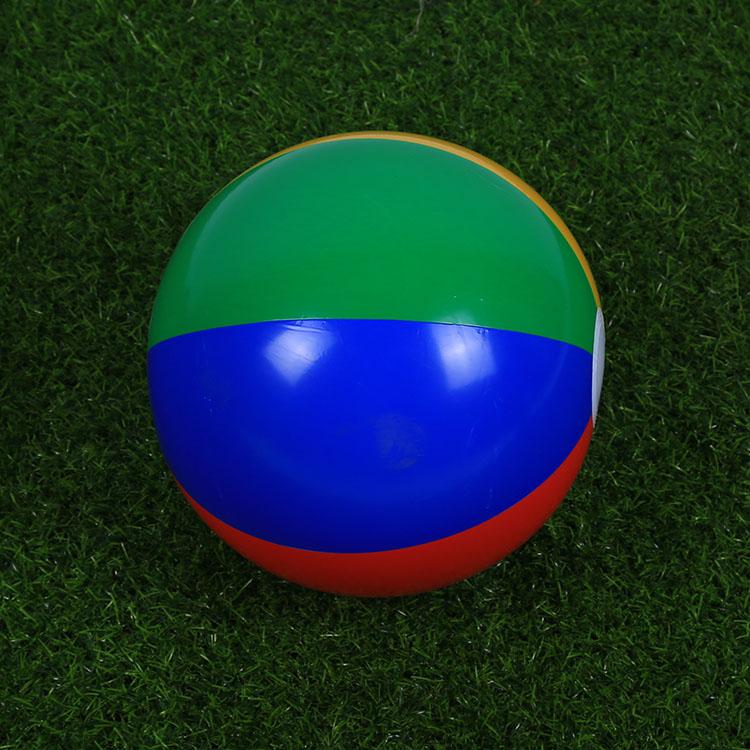 Детские [游泳沙滩球 充气水球 戏水球 海边排球 多边] разноцветный полосатый детские [玩具球]