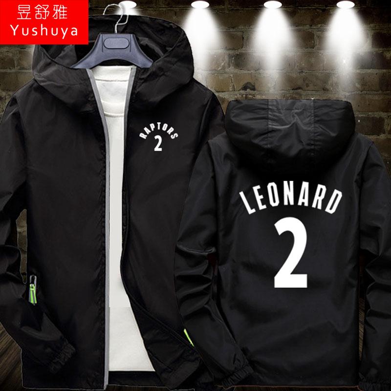 猛龙队服外套薄款男女球衣服篮球运动服洛瑞伦纳德林书豪夹克拉链,可领取2元天猫优惠券