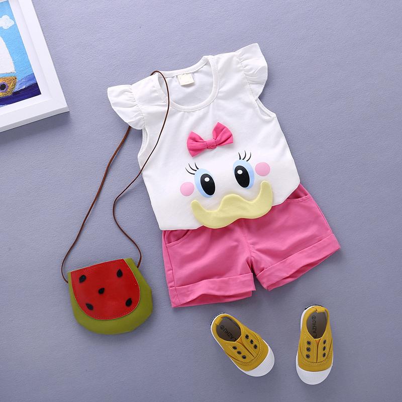 女童1~3周歲女孩兩件套