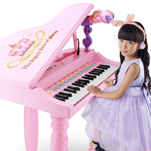 Children's electronic piano 1-3-6 year old girl beginner introduction piano baby multi-functional playing music toys