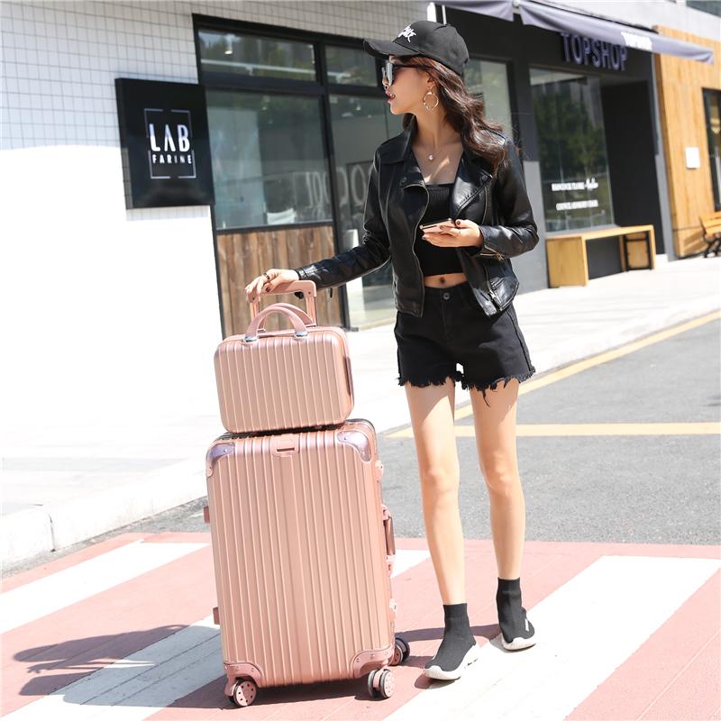 拉杆箱万向轮旅行箱28寸韩版女行李箱密码大号学生箱子男26寸箱包