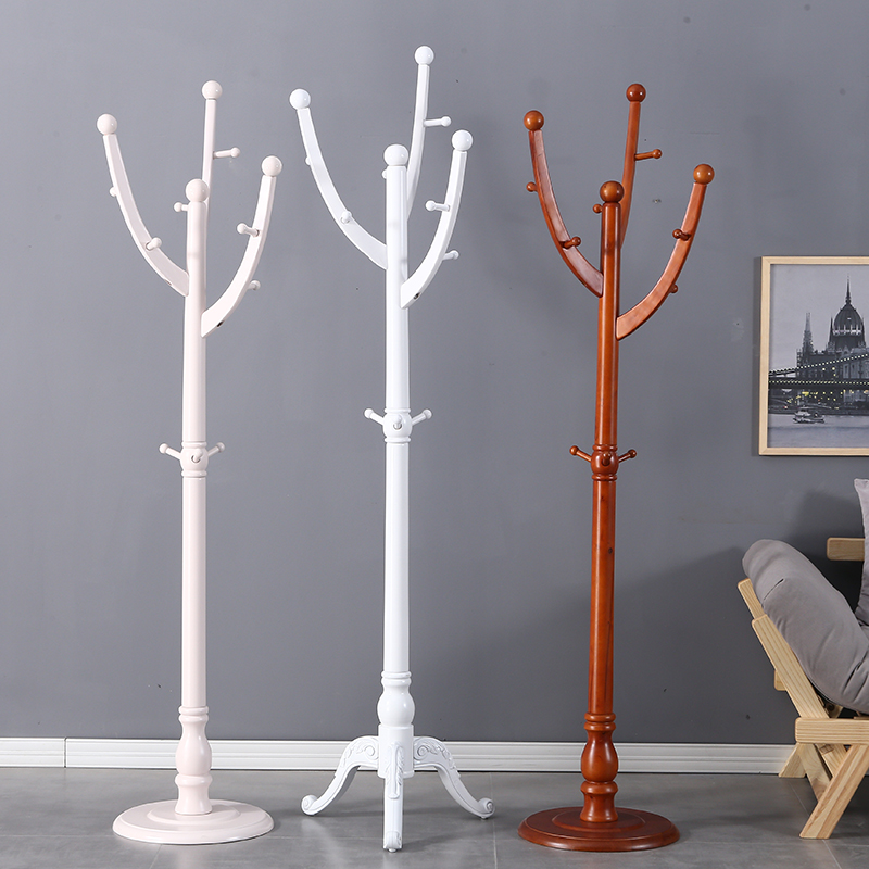 (用5元券)英发马克 落地衣帽架 树形实木北欧风格挂衣架卧室省空间创意家用