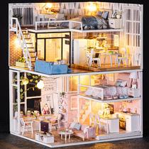 木质音乐盒定制八音盒天空之城儿童生日礼物女生创意送女友小女孩