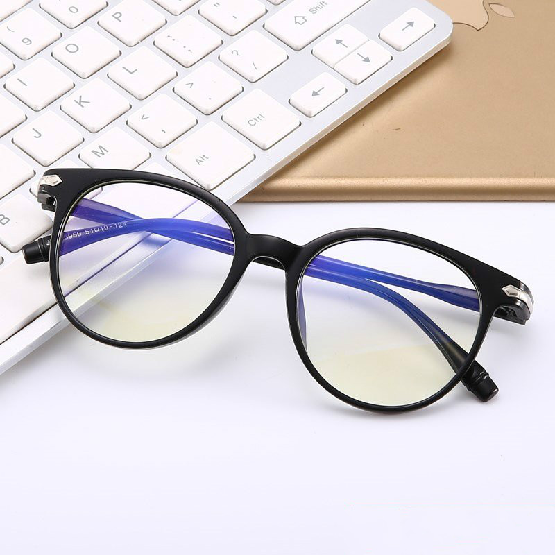 Blue light radiation shield computer glasses men