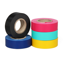 Electrical tape Waterproof PVC Electrical Insulation tape non-viscous color phase ribbon polychlorinated ethyl non-adhesive belt