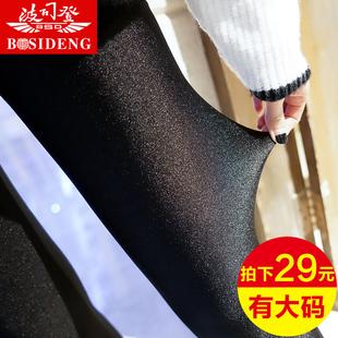 Волна отдел подниматься весна блеск брюки тонкая модель верхняя одежда рейтузы корейский девять очков женщина дикий шелк льда большой двор летняя новинка