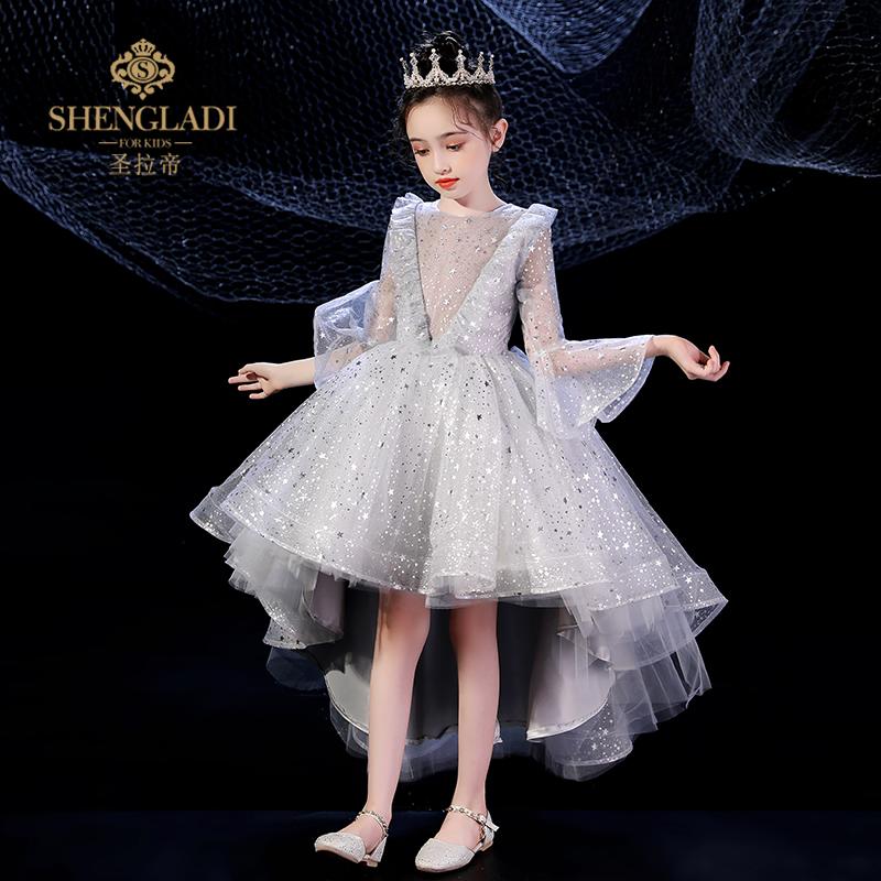 女童礼服裙洋气公主婚礼旗袍演出服