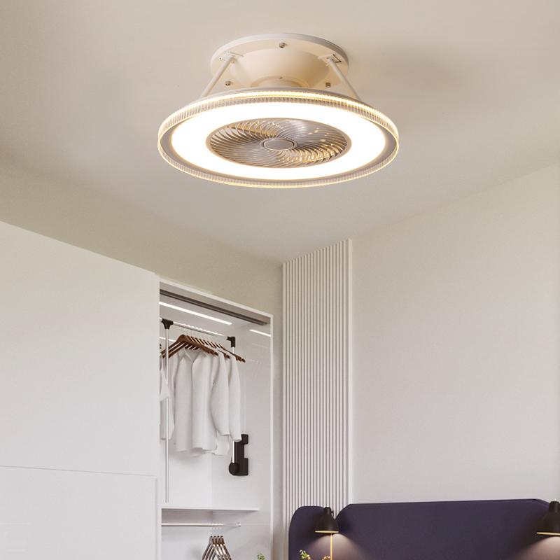 8032卧室led吸顶灯风扇灯时尚灯具一体静音带电风扇房间卧室简约,可领取10元天猫优惠券