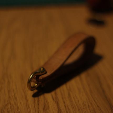 べーン·しつかん礼品手工皮具真皮牛皮复古钥匙扣奢侈情侣钥匙链