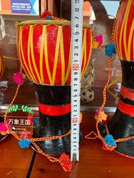 #20cm象脚鼓#演奏云南鼓傣族象脚鼓跳舞乐器餐厅装饰门面儿童鼓