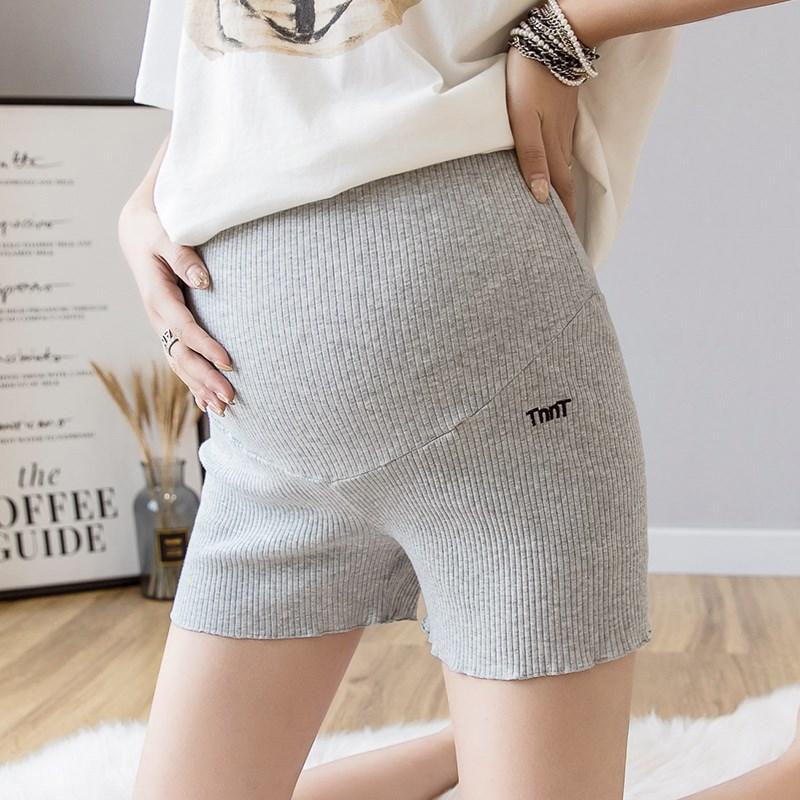 孕妇安全裤防走光夏季薄款打底裤纯棉短裤时尚外穿怀孕期裤子夏装