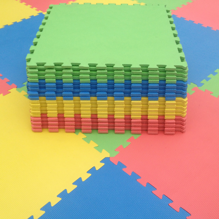 eva宝宝爬行垫儿童拼图泡沫地垫60x60拼接铺地板垫子大号加厚包邮