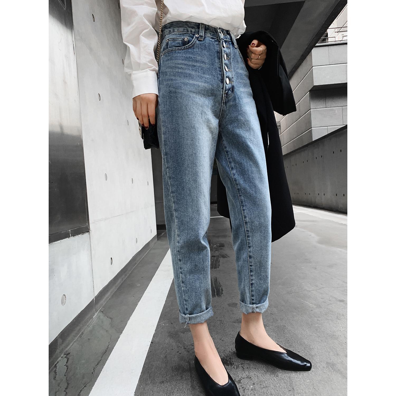 法儿家2020年新款春季显瘦牛仔裤