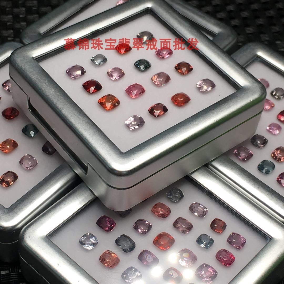 慕锦珠宝尖晶石裸石可镶嵌手链项链戒指具体联系客服 Изображение 1
