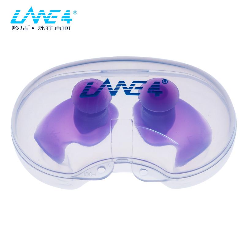美国LANE4品牌 舒适贴合防水把柄型耳窝型耳塞