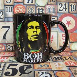 外贸原单牙买加雷鬼乐之父BOB MARLEY鲍勃马利加马克陶瓷水杯子
