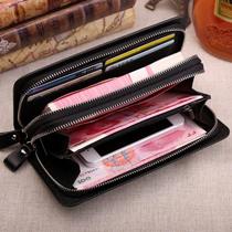 韩版潮男手拿包手抓包包长款商务大容量拉链手包手机包男士钱包