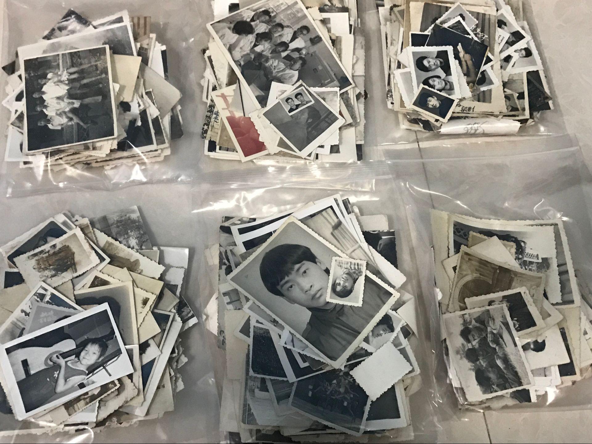 【 полный кадр 20 около 】50/60/70 эпоха черно-белое жизнь / характер старый фото фото собирать пакет старый