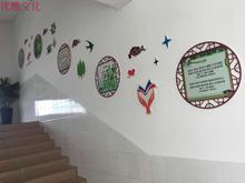 校园文化装饰 名言标语牌 企业文走廊文化学校围墙 UV雪弗板雕刻