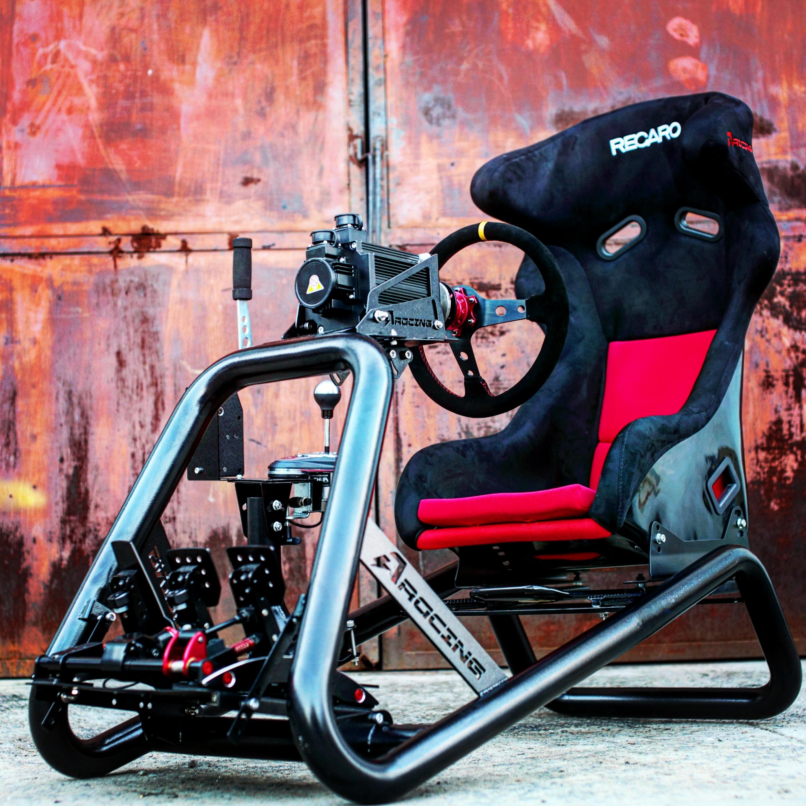 AZRACING моделирование гоночный рулевое колесо стоять сиденье FANATEC/CSW/T300RS/TGT/TX/T500