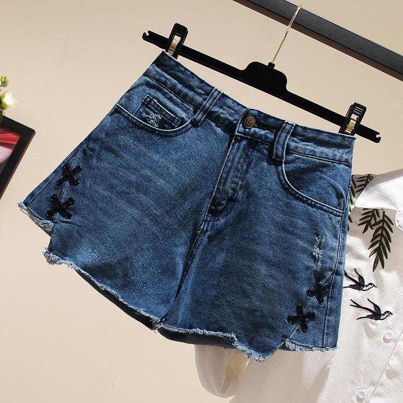 换季大码女夏装网红时尚气质短裤子(非品牌)
