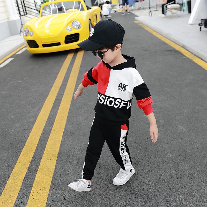 男童春装套装2021新款韩版儿童宝宝帅气春秋3-8岁5运动洋气两件套