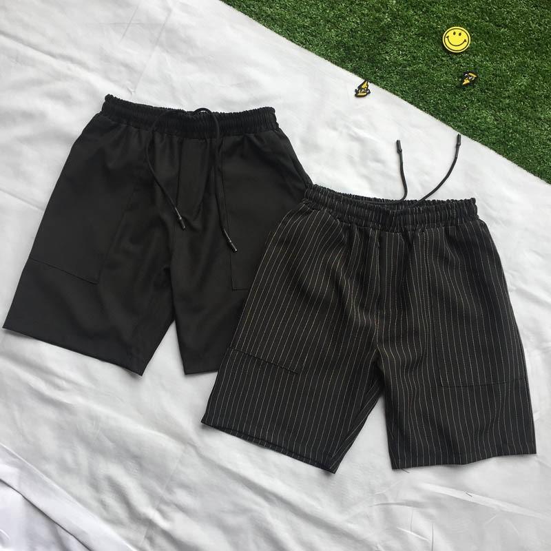Korean Trend original night style BF loose stripe Pants Boys ulzzang port style pants
